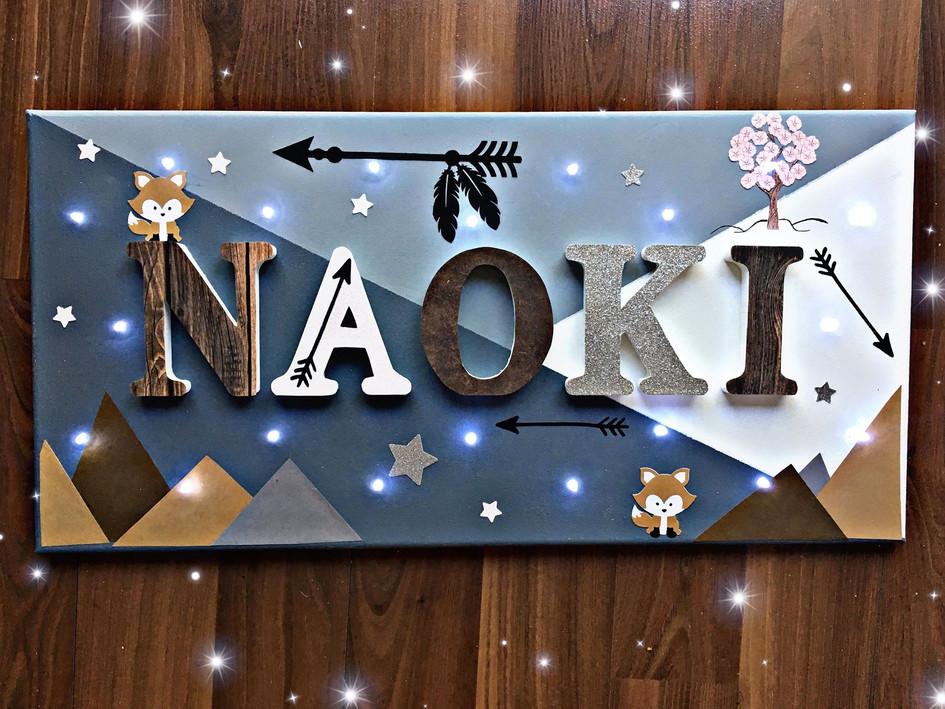Toile Lumineuse - Naoki