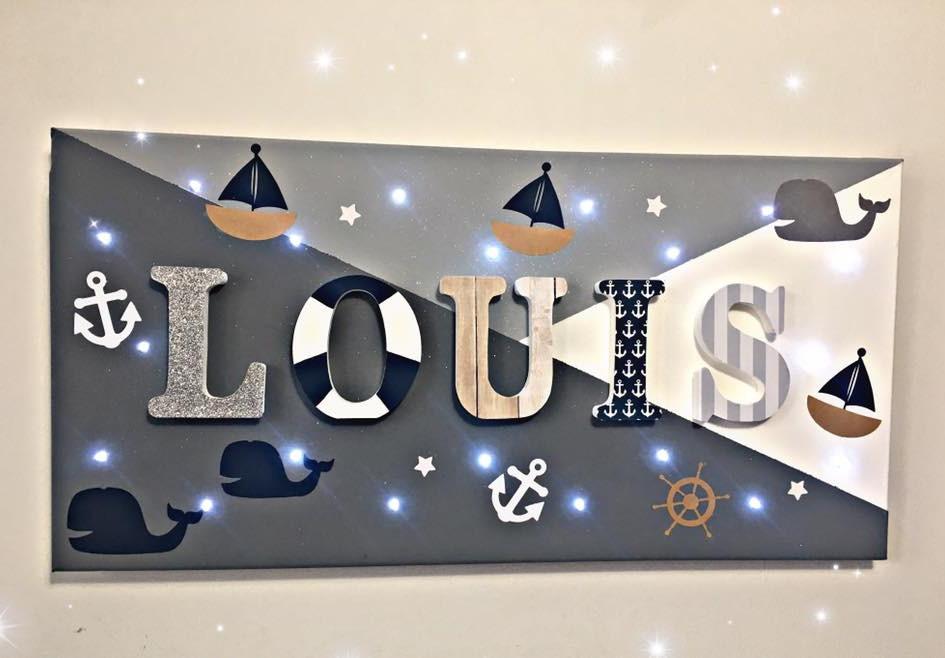Toile Lumineuse - Louis