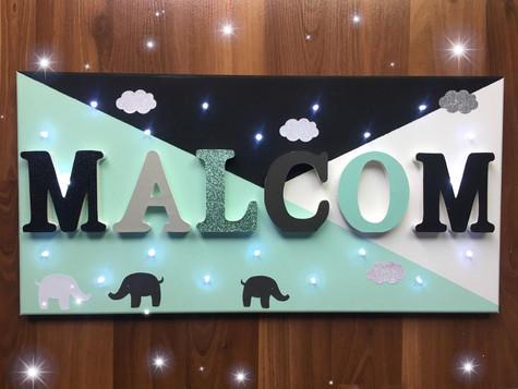 Toile Lumineuse - Malcom