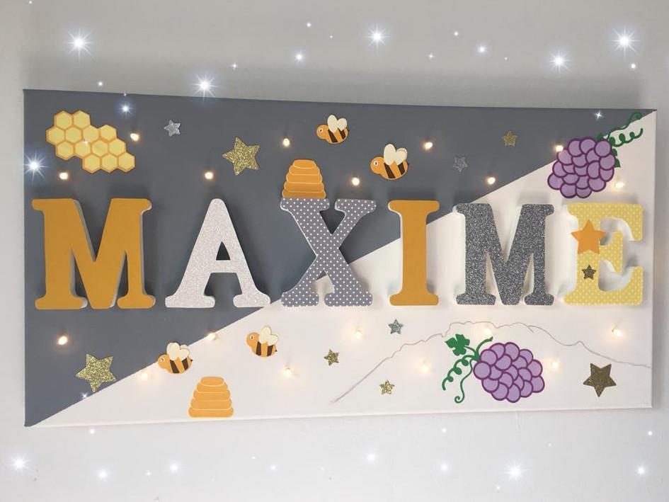 Toile Lumineuse - Maxime