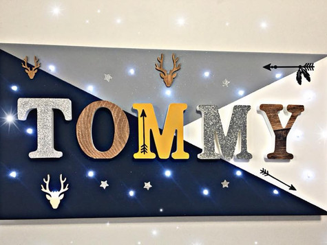 Toile Lumineuse - Tommy