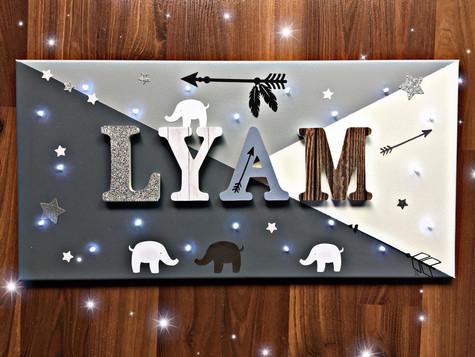 Toile Lumineuse - Lyam