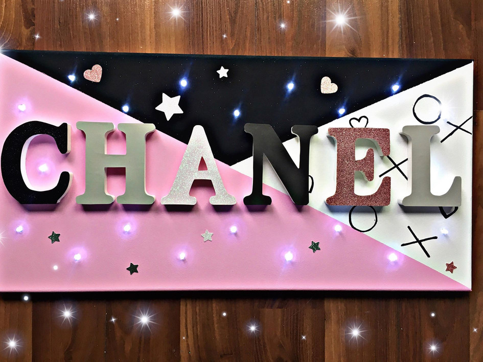 Toile Lumineuse - Chanel