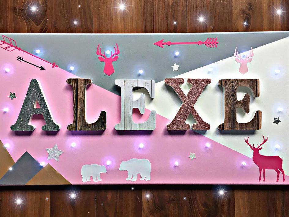 Toile Lumineuse - Alexe