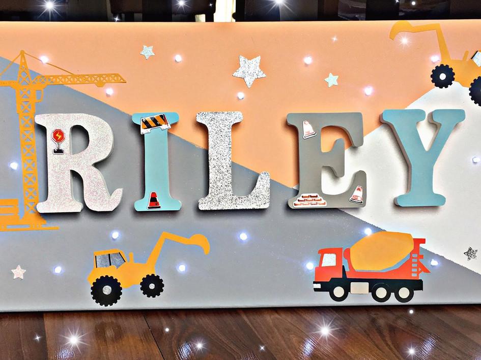 Toile Lumineuse - Riley
