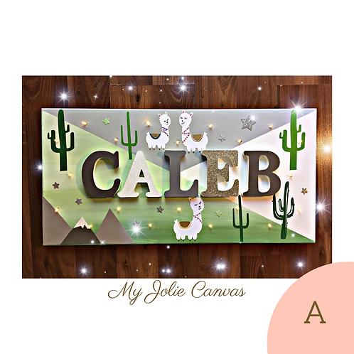 Cactus et Lamas