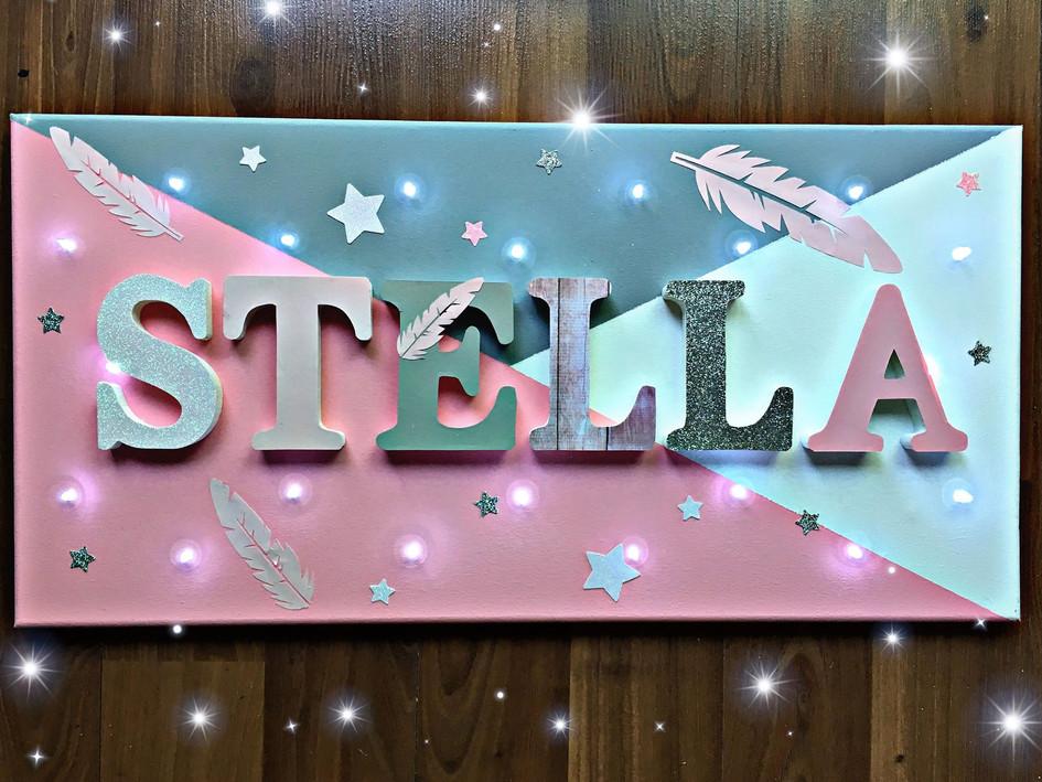 Toile Lumineuse - Stella