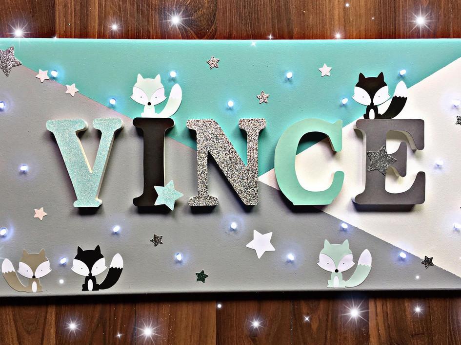 Toile Lumineuse - Vince