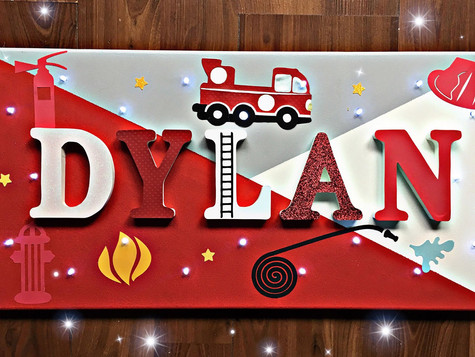 Toile Lumineuse - Dylan