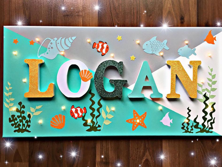 Toile Lumineuse - Logan