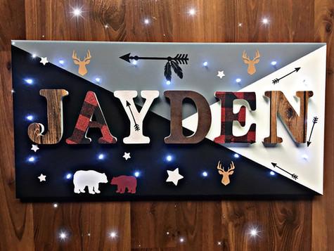 Toile Lumineuse - Jayden