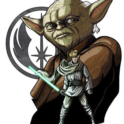 Luke e Yoda
