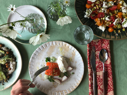 Dine Among the Flowers Weekend