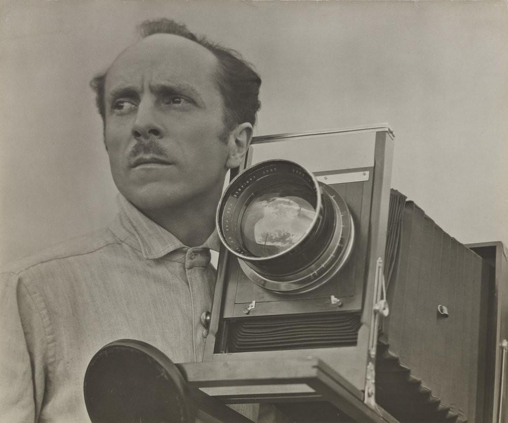 Retrato do fotógrafo Edward Weston feito por Tina Modotti