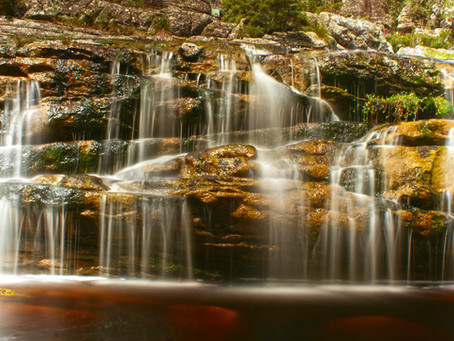 Fotografando cachoeira