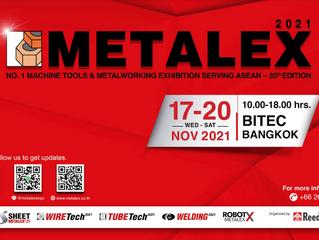 「METALEX2021」出展のお知らせ