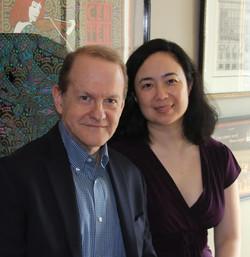 Dennis Moore and Sara Su Jones