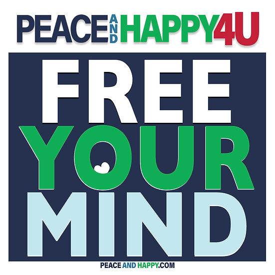 UP-WORD Sticker~Free Your Mind