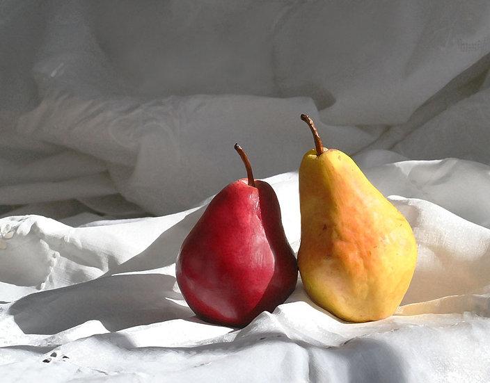 Two Pears- Landscape Orientation