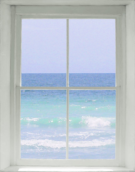 Ocean Window- Portrait Orientation