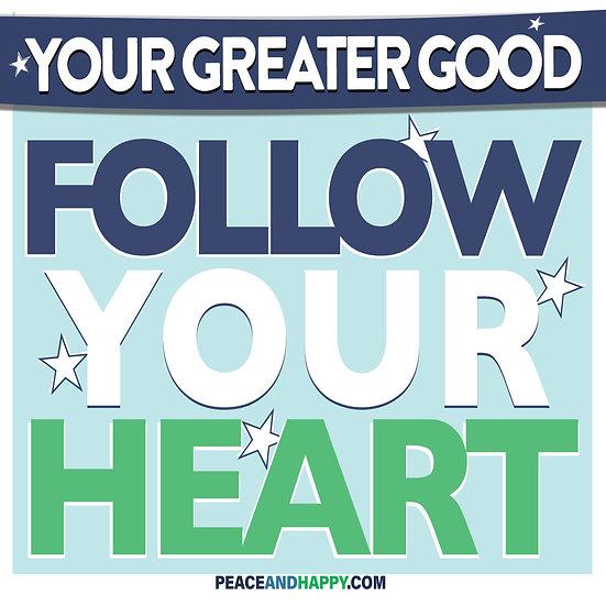 UP-WORD Sticker~Follow Your Heart