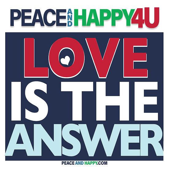 UP-WORD Sticker~Love Is The Answer