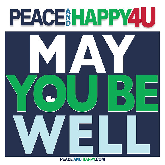 UP-WORD Sticker~May You Be Well