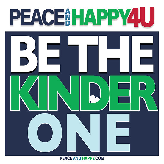 UP-WORD Sticker~Be The Kinder One