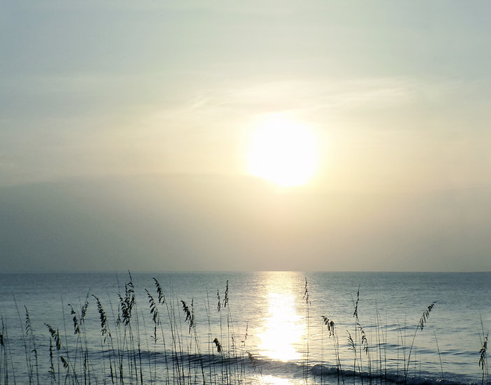 Coastal Quiet - Landscape Orientation
