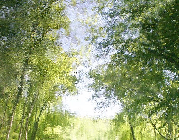 Serene Summer Water- Landscape Orientation