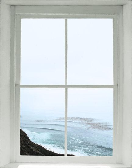 Big Sur Window/Abyss- Portrait Orientation