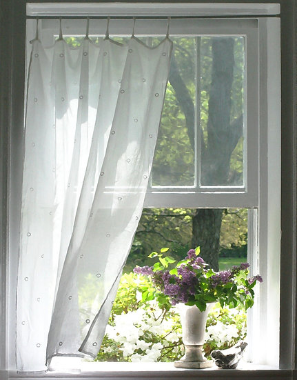 Lilacs in the Window- Portrait Orientation