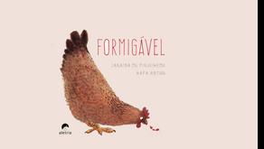 Arte dos Encontros e Formigável, novo livro infantil de Janaína de Figueiredo