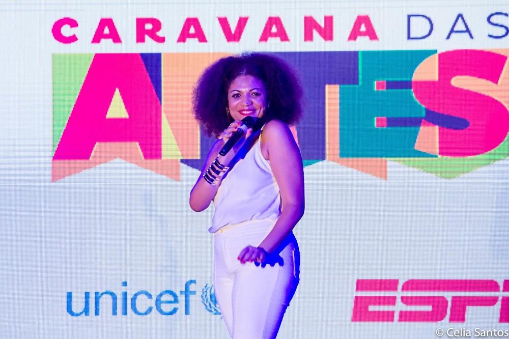 Segundo Luciana, a participação na Caravana das Artes a engradece no contexto profissional e pessoal. | Foto: Celia Santos