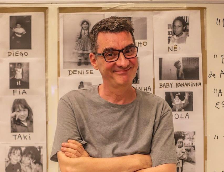 Flavio de Souza, dramaturgo, escritor, ator e roteirista