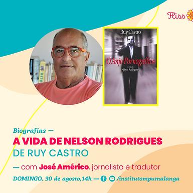 Biografias — A Vida de Nelson Rodrigues de Ruy Castro