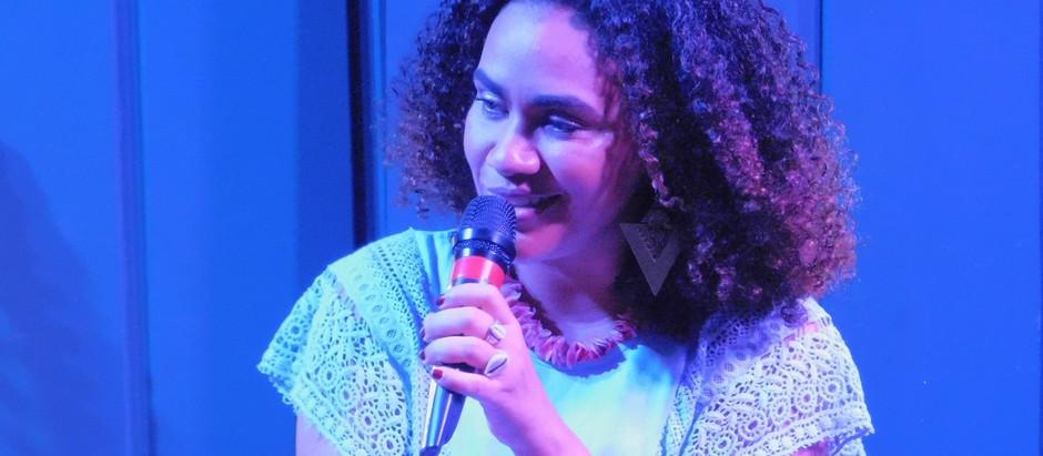 Mariene de Castro encanta na Casa Brasileira
