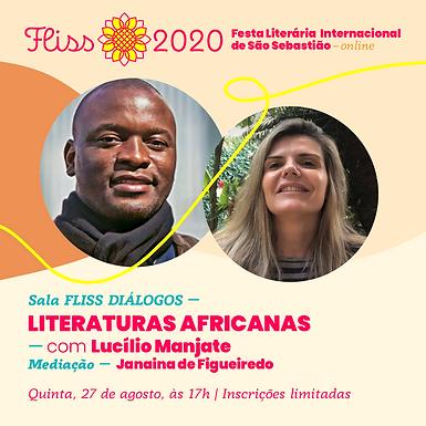 Sala FLISS DIÁLOGOS — Literaturas Africanas