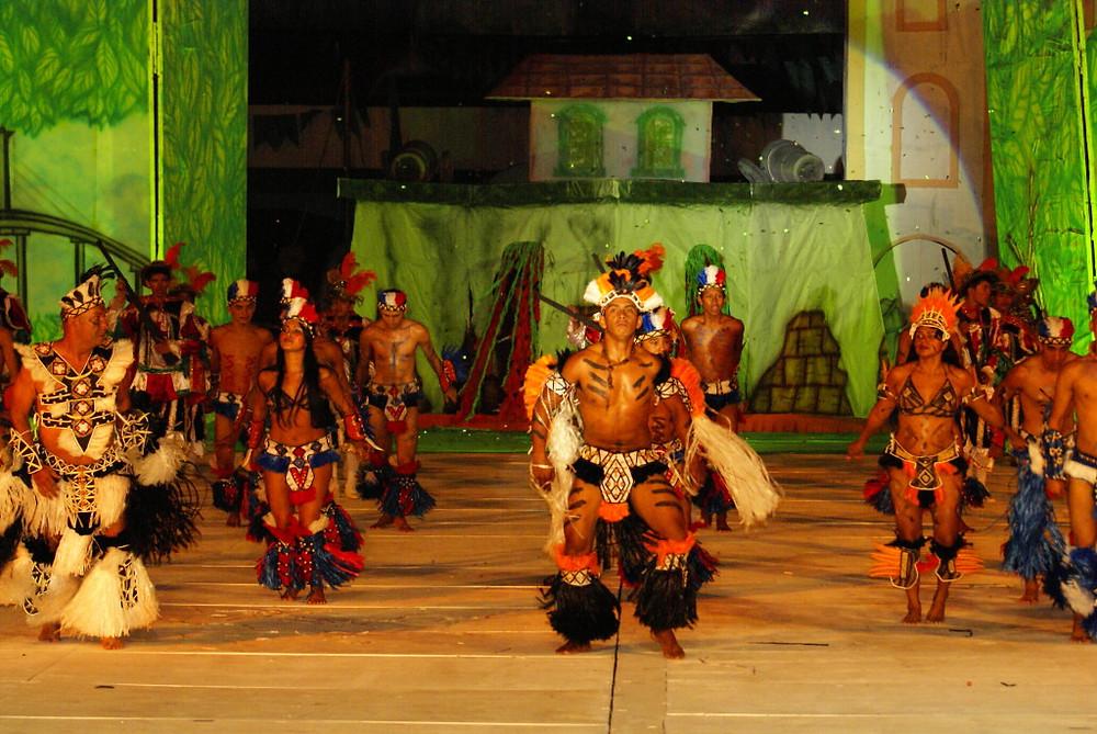 A Caravana realizada em Manacapuru foi marcada pela presença de manifestações culturais.