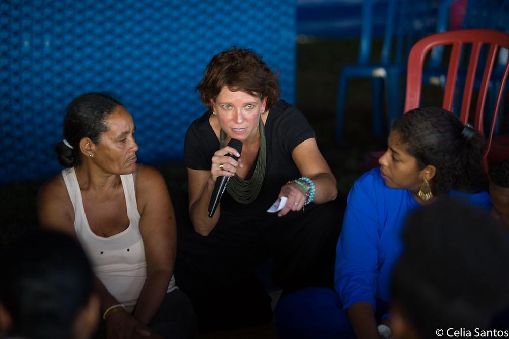 Com Ana David, Todas por Elas recebe exemplo das mulheres do Recife. | Foto: Celia Santos/Instituto Mpumalanga