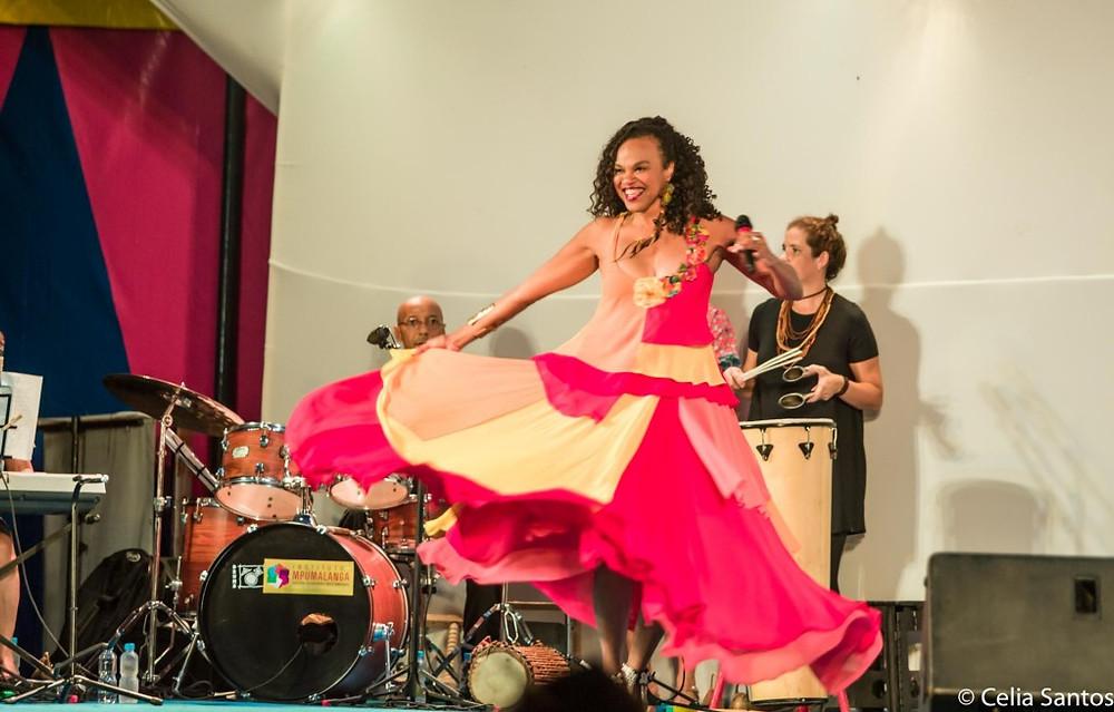 Clécia trouxe o Samba de Roda para Laranjeiras e se aproximou so Samba de Pareia e outras tantas culturas locais. (Foto: Celia Santos