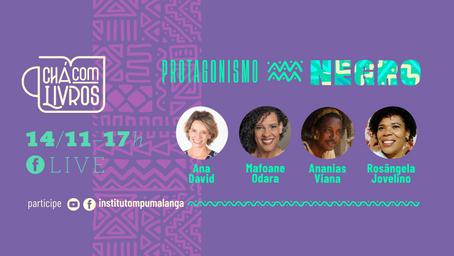 Chá com livros: Diversidade e combate às violências de raça e gênero