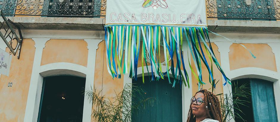 Encantada com a Casa Brasileira