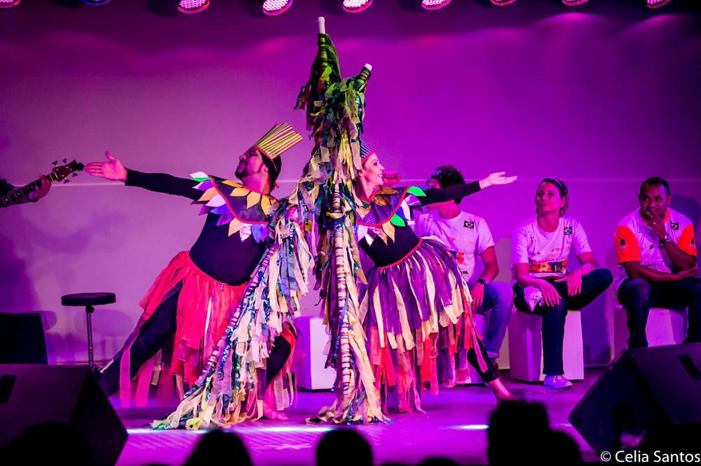 Coreografia chama a atenção para a proteção do meio ambiente de forma leve e bela. (Foto: Celia Santos)