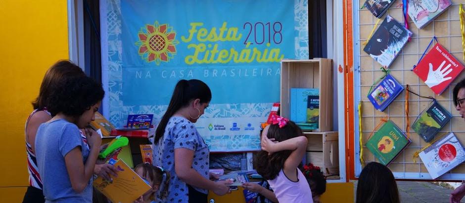 O sucesso da Festa Literária 2018