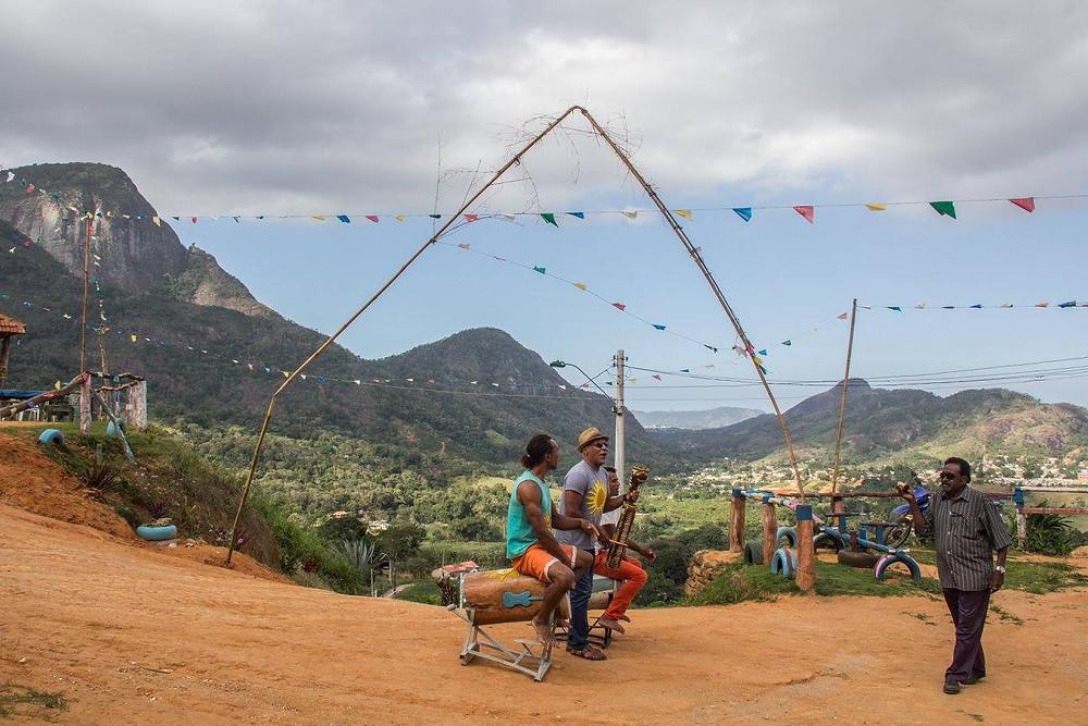 Paisagem do alto inspira tradição da zona rural (Foto: Rafa Yamamoto)