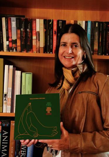 Tarsila do Amaral, a Tarsilinha, é sobrinha-neta da famosa pintora e responsável pelo acervo.