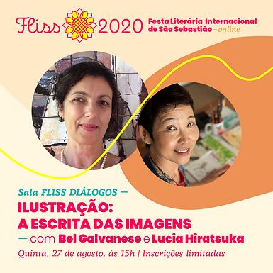 Sala FLISS DIÁLOGOS — Ilustração: A Escrita das Imagens
