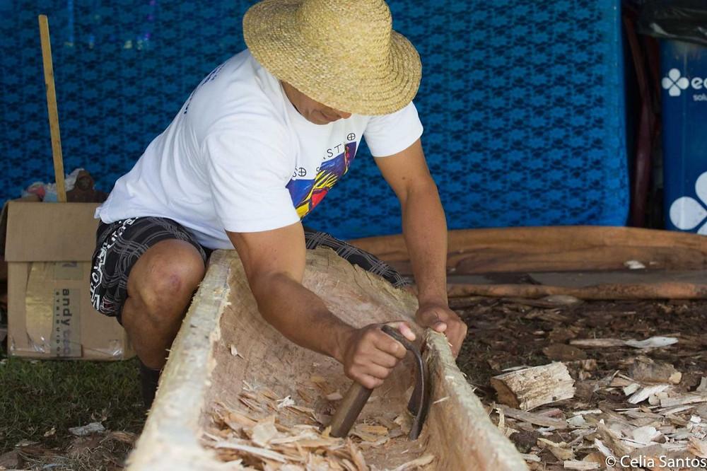 Evaldo passeia pela história e as tradições da cultura caiçara. (Foto: Celia Santos)