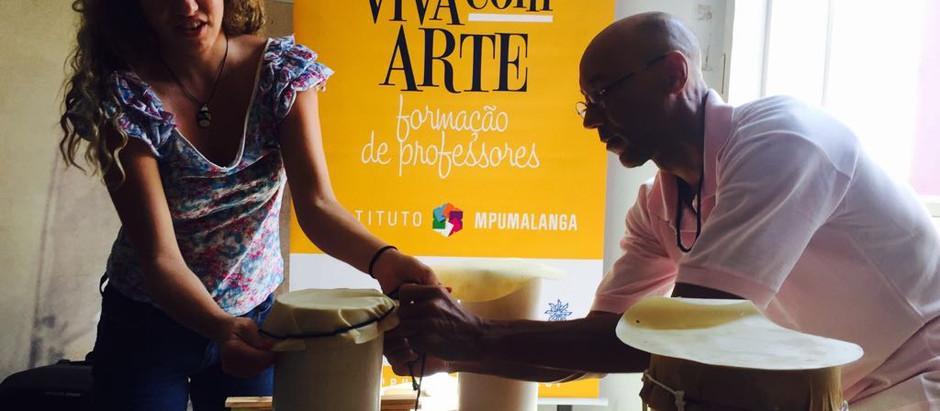 Oficina Viva com Arte de instrumentos alternativos faz barulho em São Sebastião